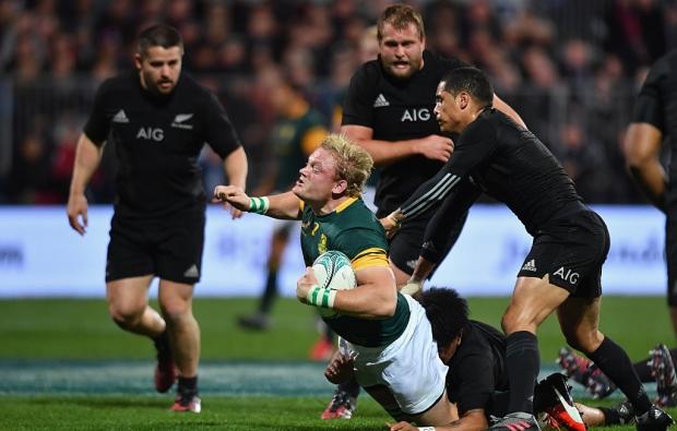 Rugby Championship : Les All Blacks écrasent les Boks et entrent dans l'histoire