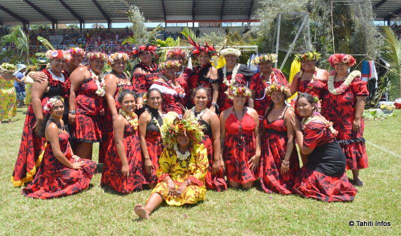 Au stade Pater, l'unité des femmes protestantes de Tahiti