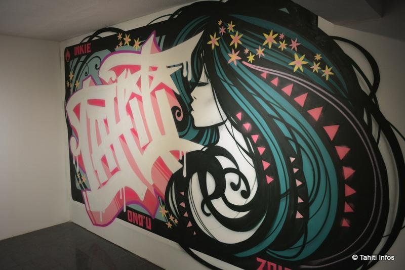 Un Musée du street art ouvert à Papeete