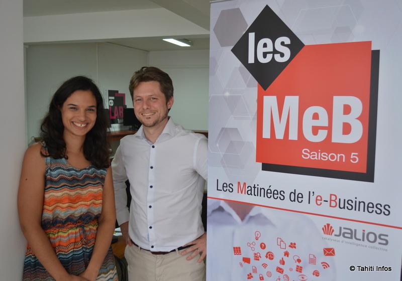 Hanane Wahibi et Mathieu Bigeard de la société Jalios animeront ensemble les conférences et les ateliers