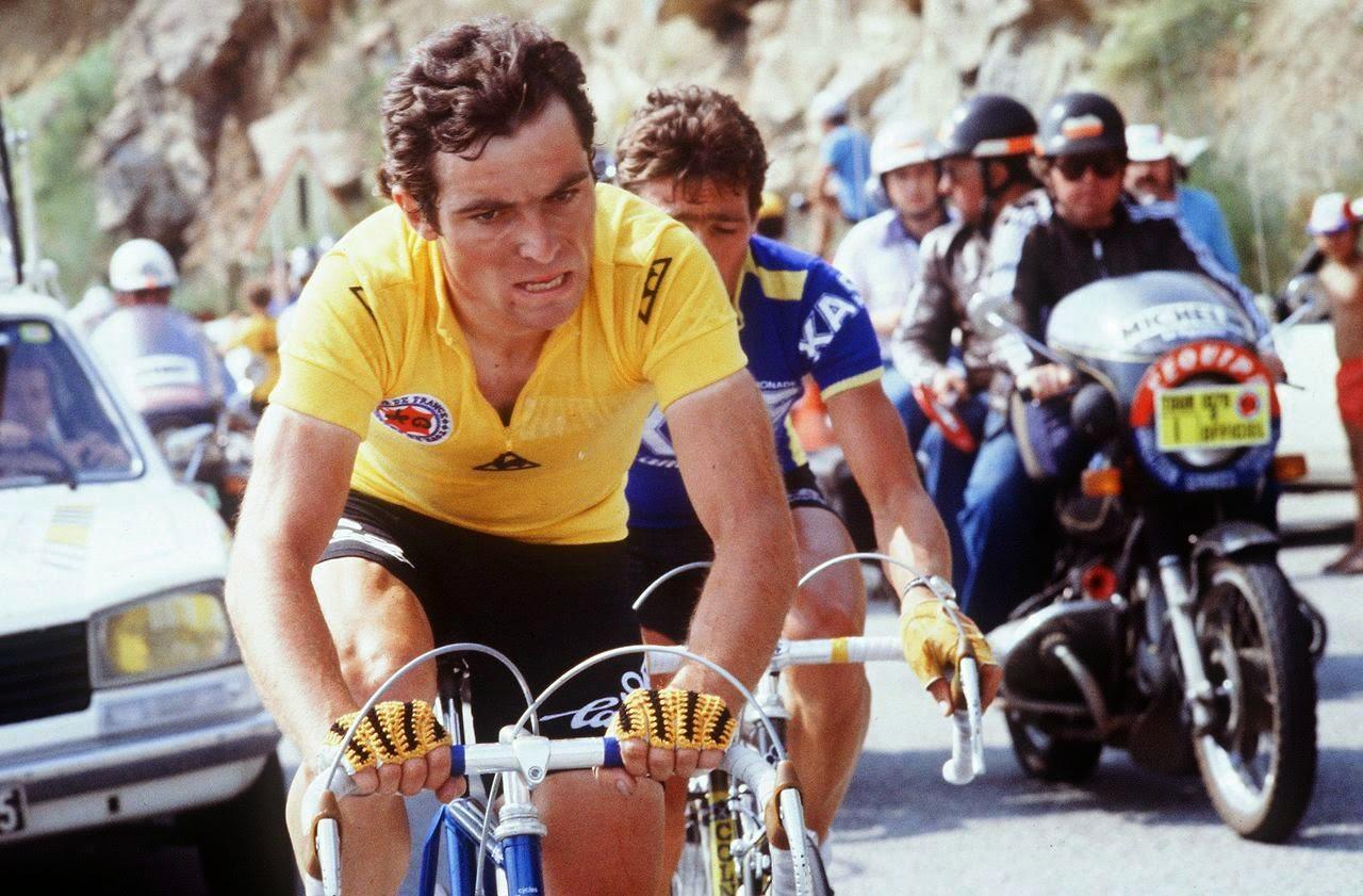 Bernard Hinault a marqué l'histoire du cyclisme et du sport français