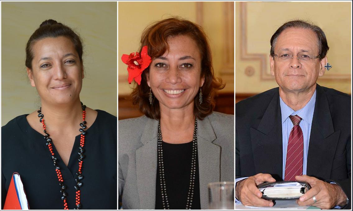Législatives : le Tapura donne investiture au trio Sage-Sanquer-Howell