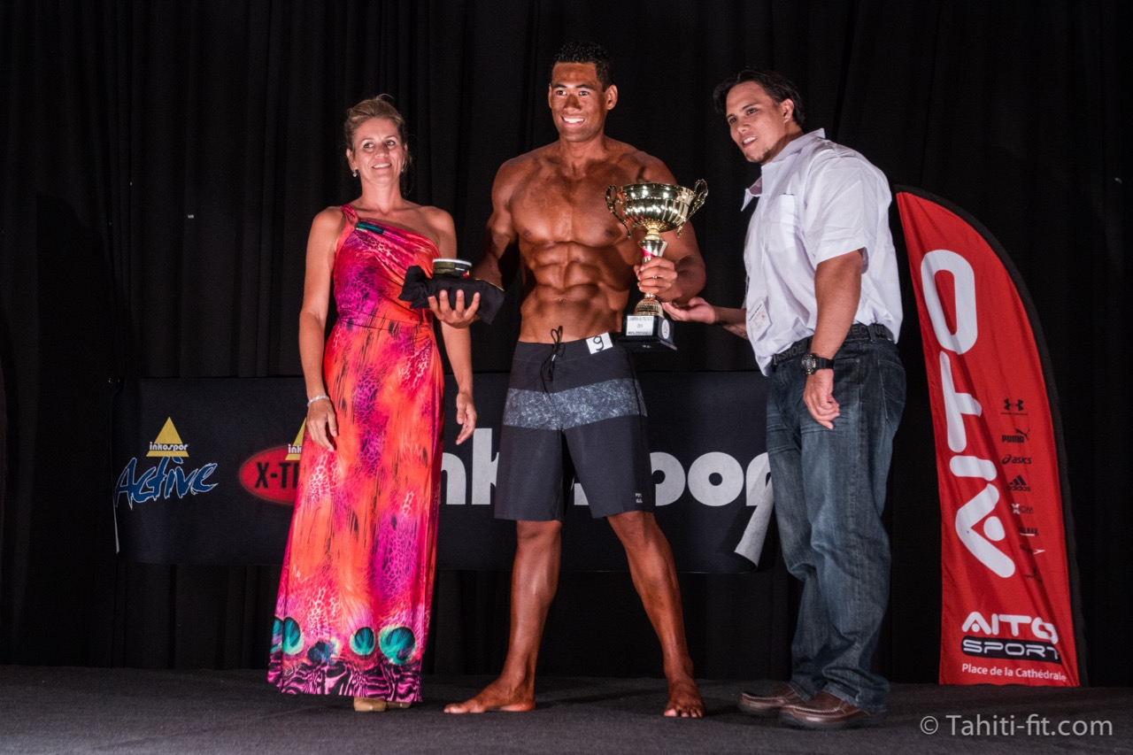 Heiki Haoatai s'impose en Men's Physique