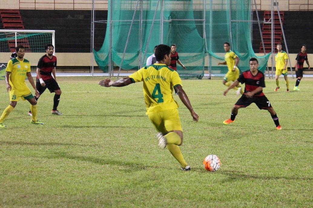 Première défaite de la saison pour Tefana
