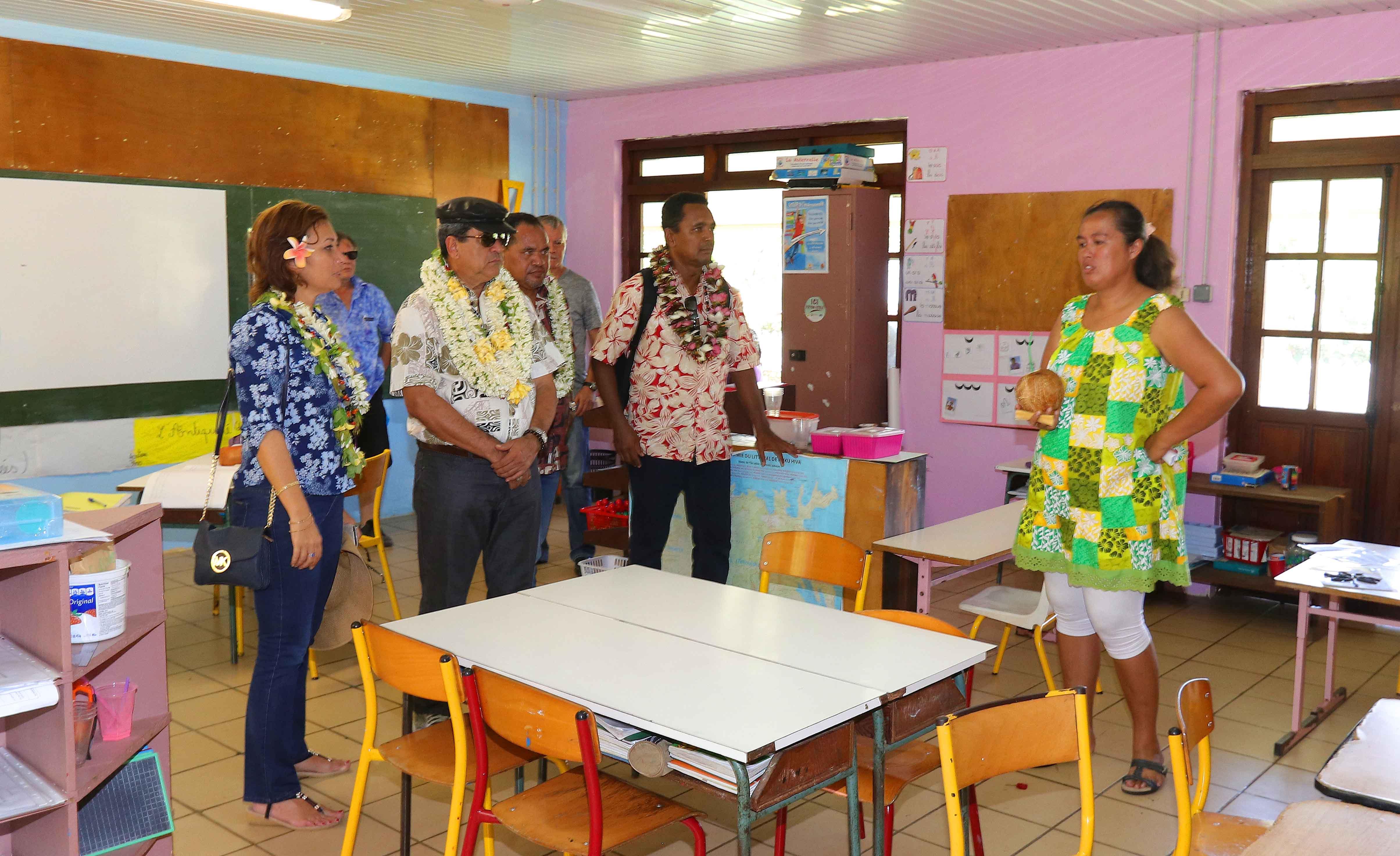 Tournée gouvernementale aux Marquises : visite ce lundi des vallées d'Aakapa et Hatiheu