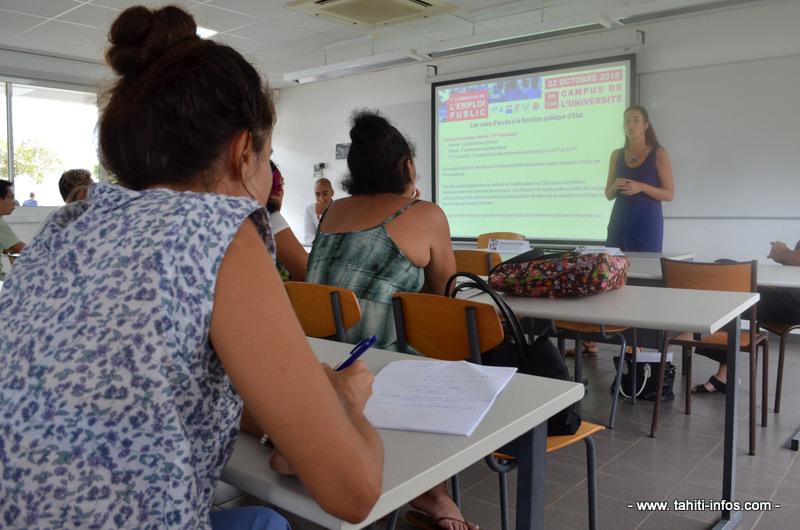 Une journée pour tout savoir sur les emplois dans la fonction publique à l'UPF