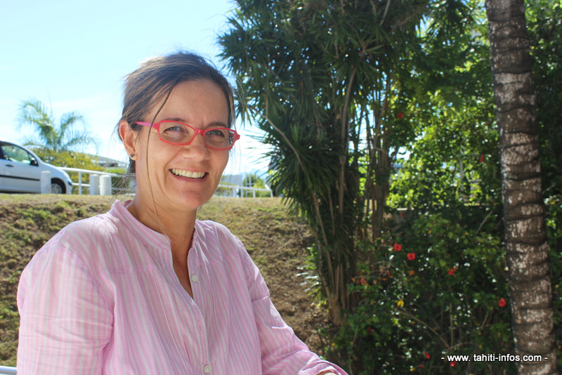Le professeur Nabila Gaertner-Mazouni.