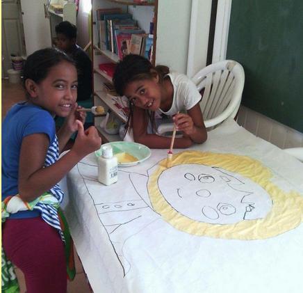 Une quarantaine d'enfants viennent régulièrement dans les locaux de l'association.