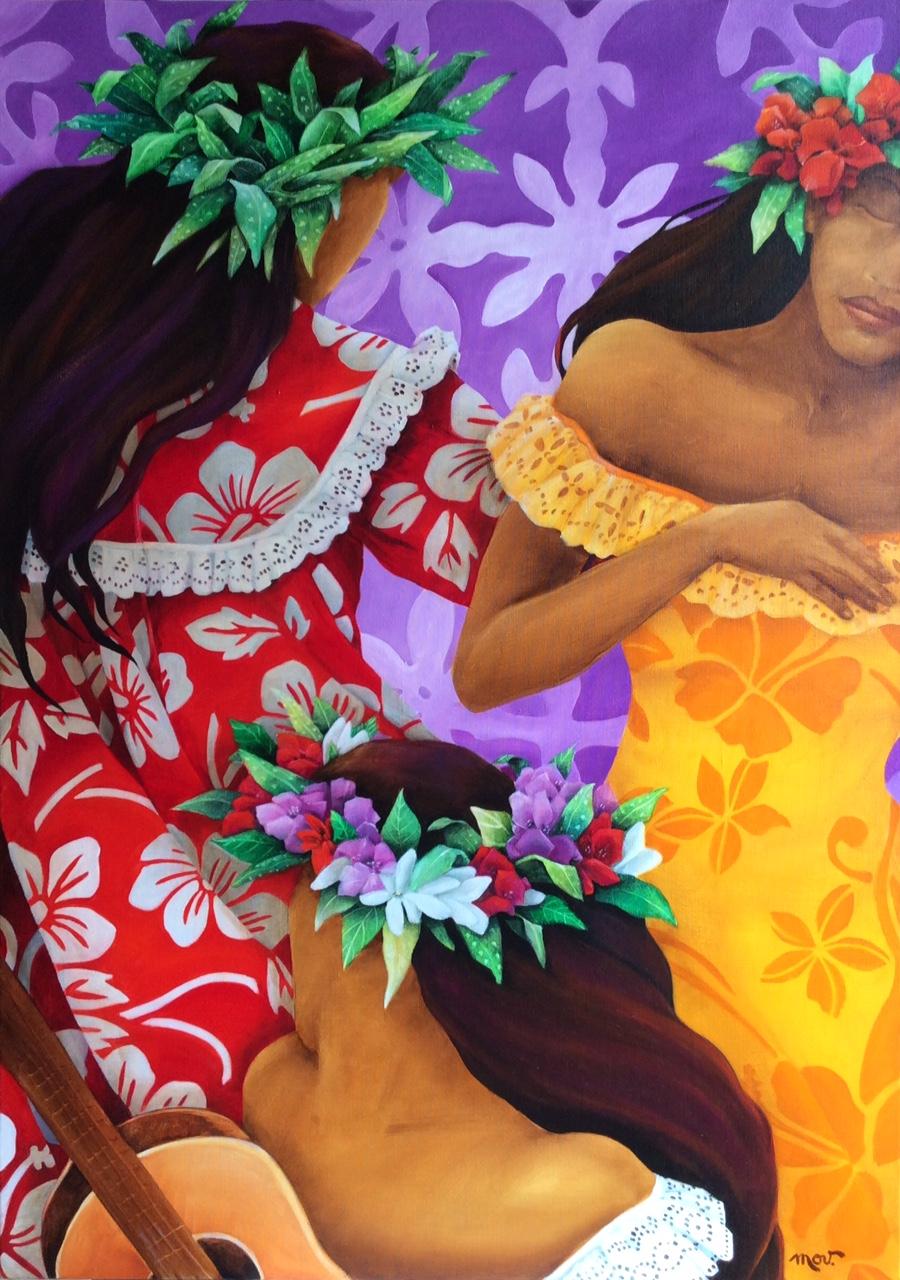 Chatoyantes, les nouvelles œuvres de l'artiste invitent à la fête.