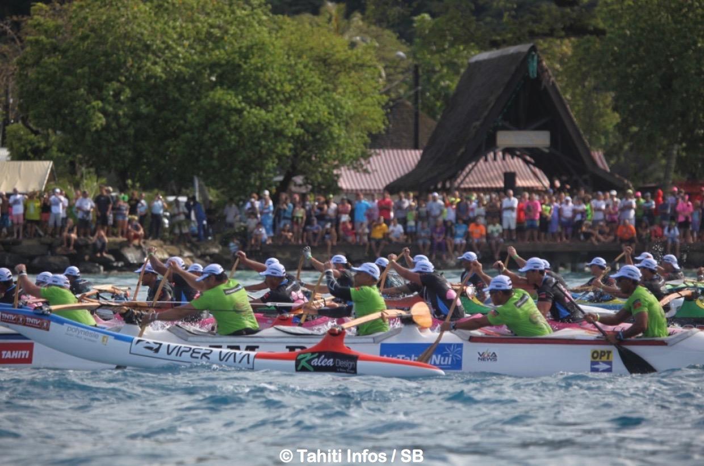 Hawaiki Nui Va'a est l'évènement sportif de l'année en Polynésie
