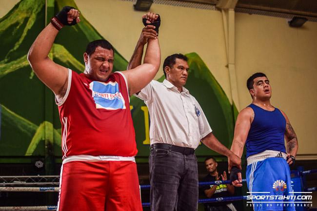 Teiki Marotau s'est qualifié pour la finale
