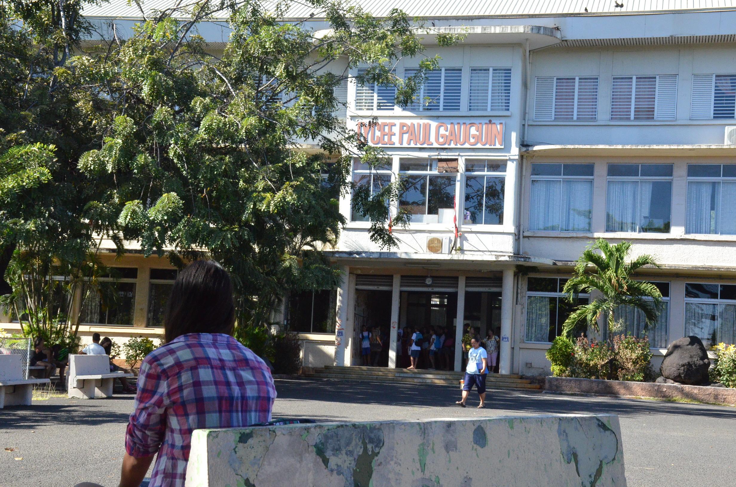 Le lycée Gauguin porte plainte contre un parent d'élève