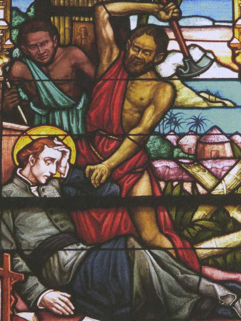 Pierre Chanel, 1er martyr  et patron de l'Océanie