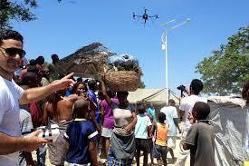 Haïti: des drones pour mieux identifier les besoins après l'ouragan Matthew