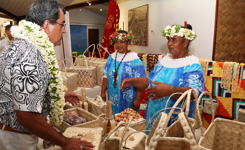 L'inauguration du salon s'est faite lundi en présence des autorités du Pays.