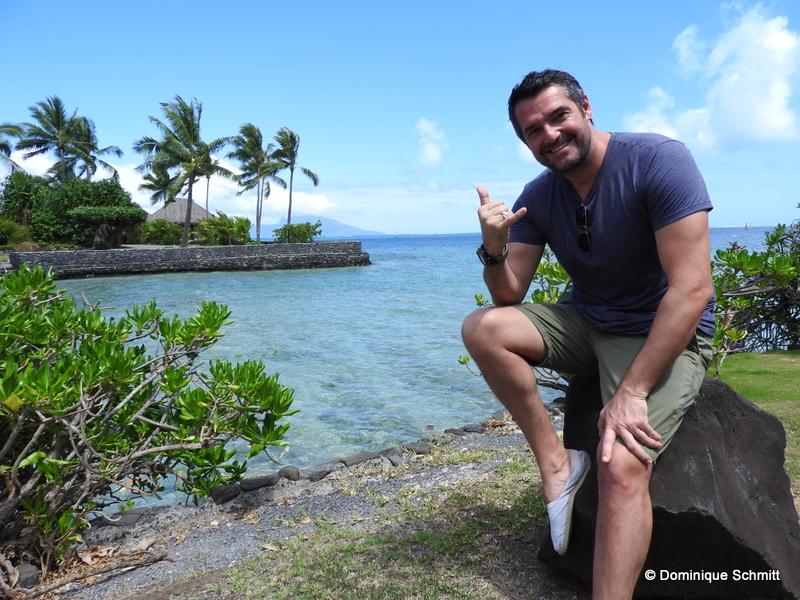 L'humoriste et comédien a hâte de rencontrer le public polynésien pour qui il va se donner à 400 %.