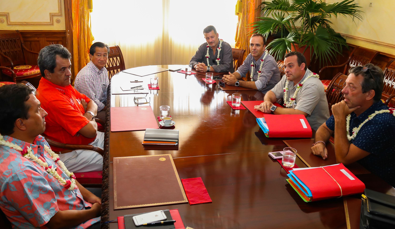 Le nouveau bureau de la CGPME reçu à la présidence