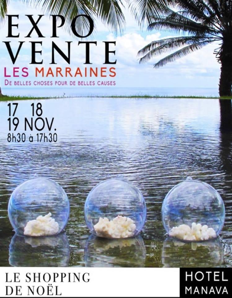 Exposition des Marraines fin novembre