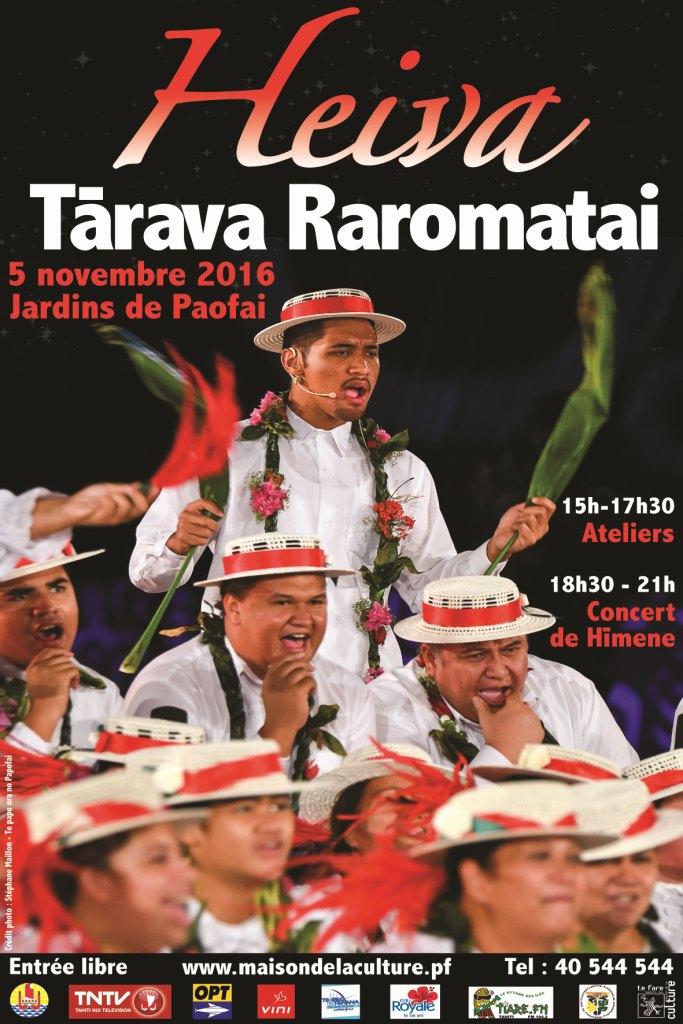 Heiva Tārava Raromata'i : les chants polyphoniques des Îles Sous-le-Vent à l'honneur le 5 novembre