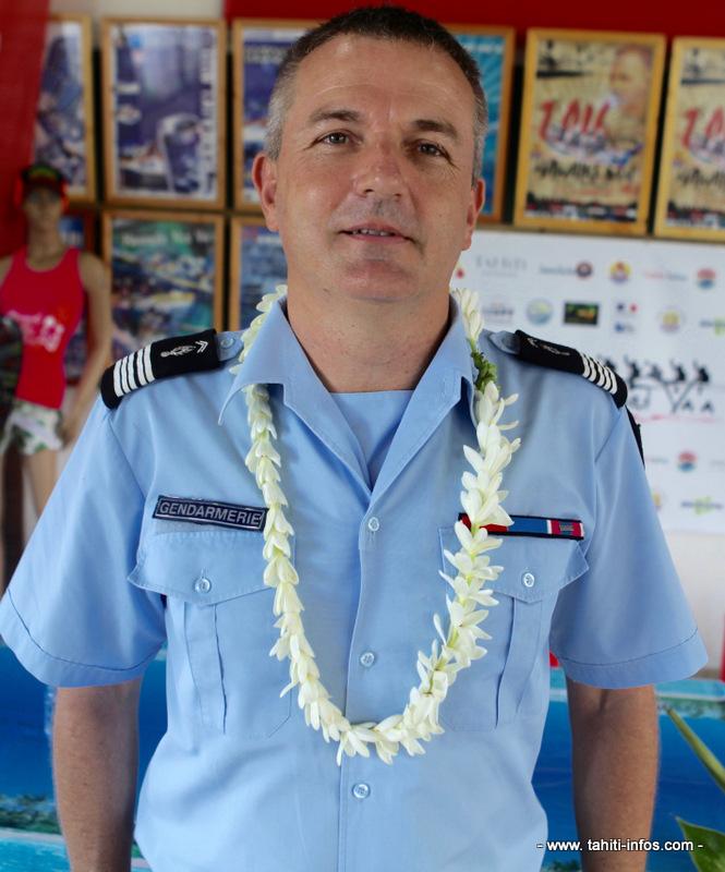 Christophe Veuille, second de gendarmerie.