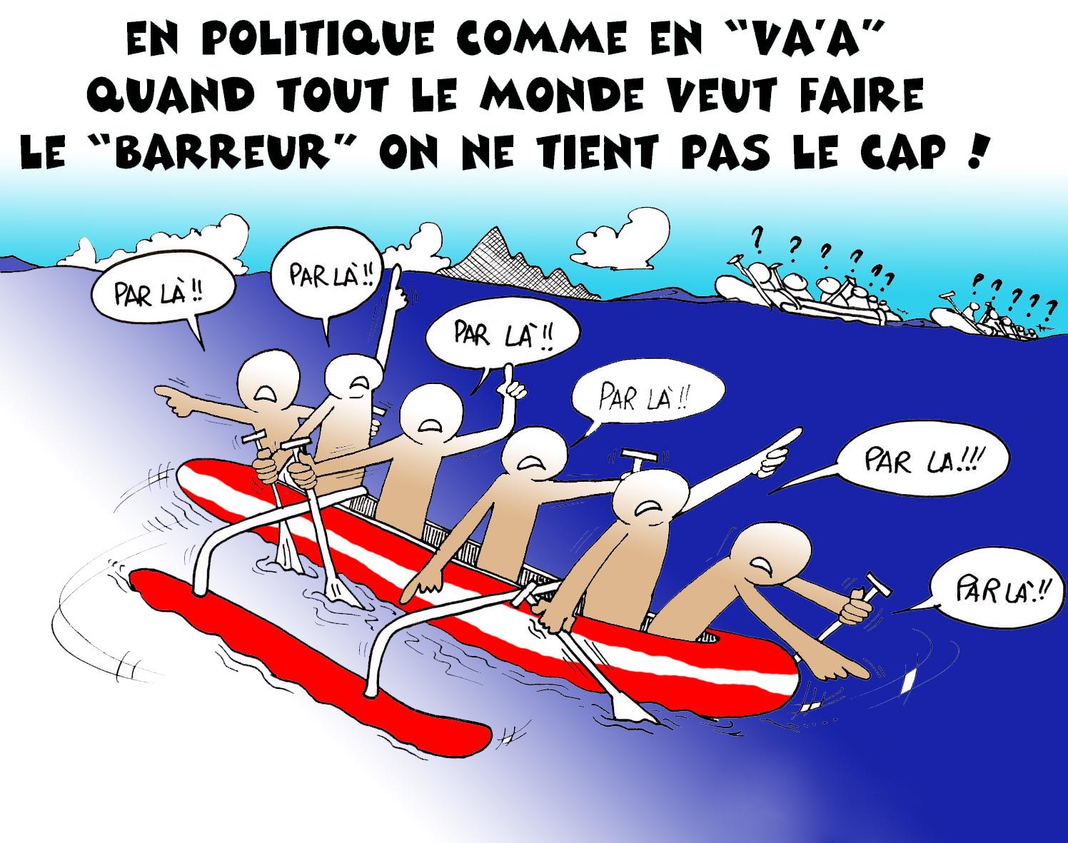 """"""" Les peperu de la politique """" vu par Munoz"""