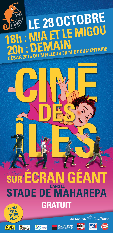 """""""Ciné des îles"""" : deux films projetés sur écran géant ce soir à Moorea"""