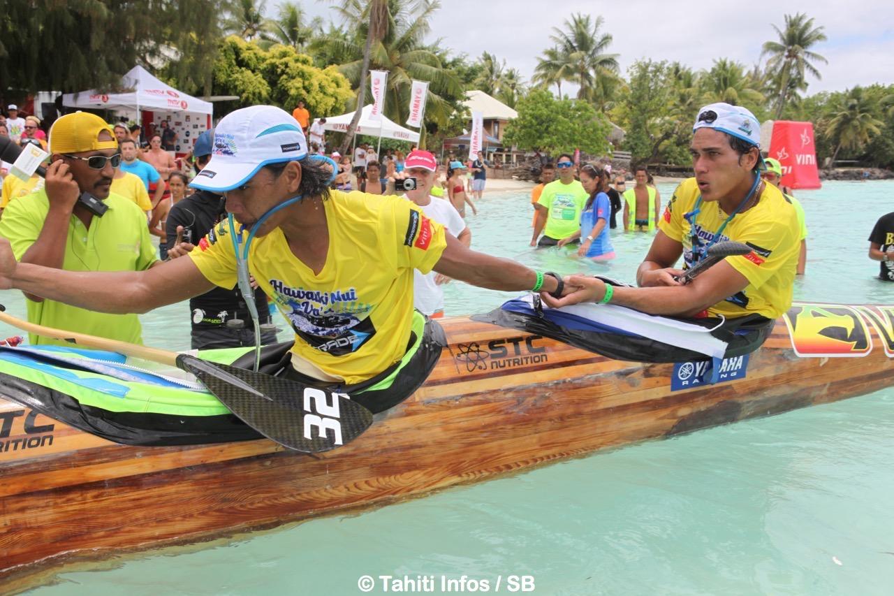 Edt Va'a a remporté les deux dernières éditions d'Hawaiki Nui Va'a