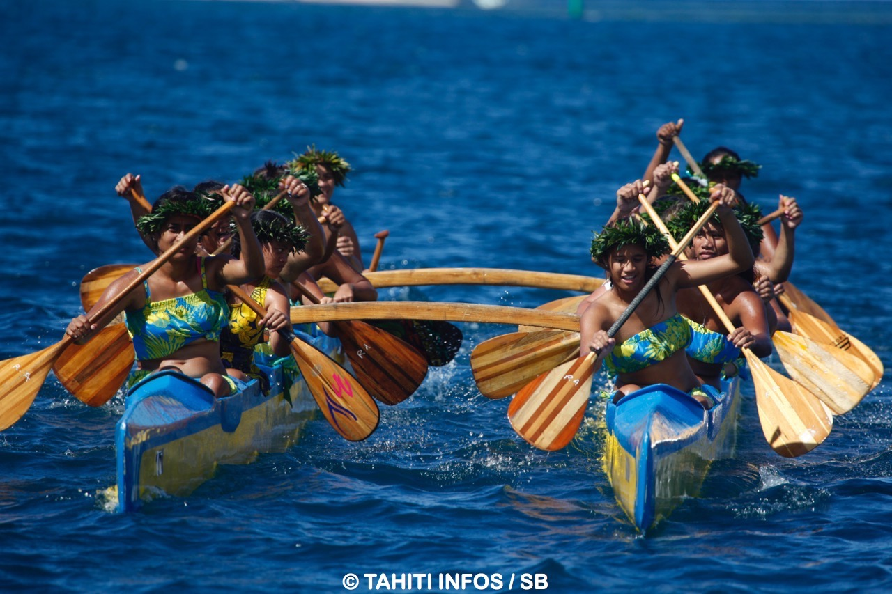 pirogue polynesienne vaa