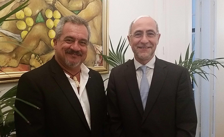Propriété littéraire et artistique : le ministre s'entretient avec le président de Copie France