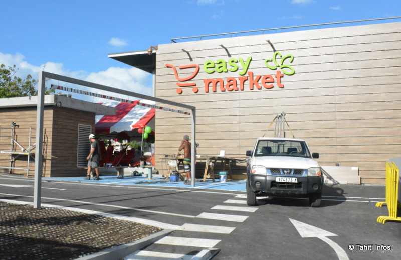 Ouverture du magasin Easy Market Prince Hinoi