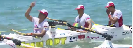 Hawaiki Nui Va'a: Team OPT A remporte la seconde étape