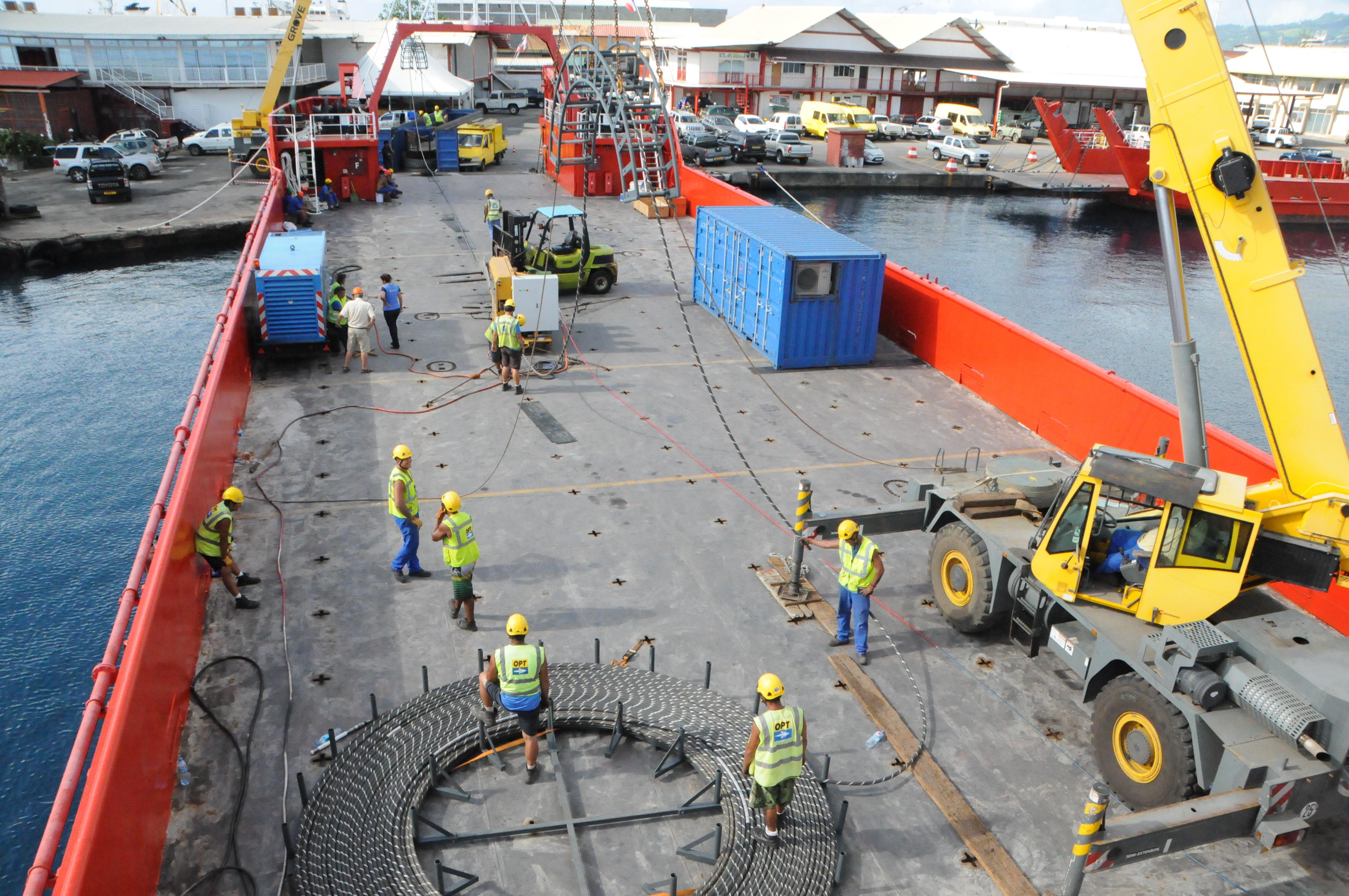 Internet : un projet régional pour le second câble polynésien