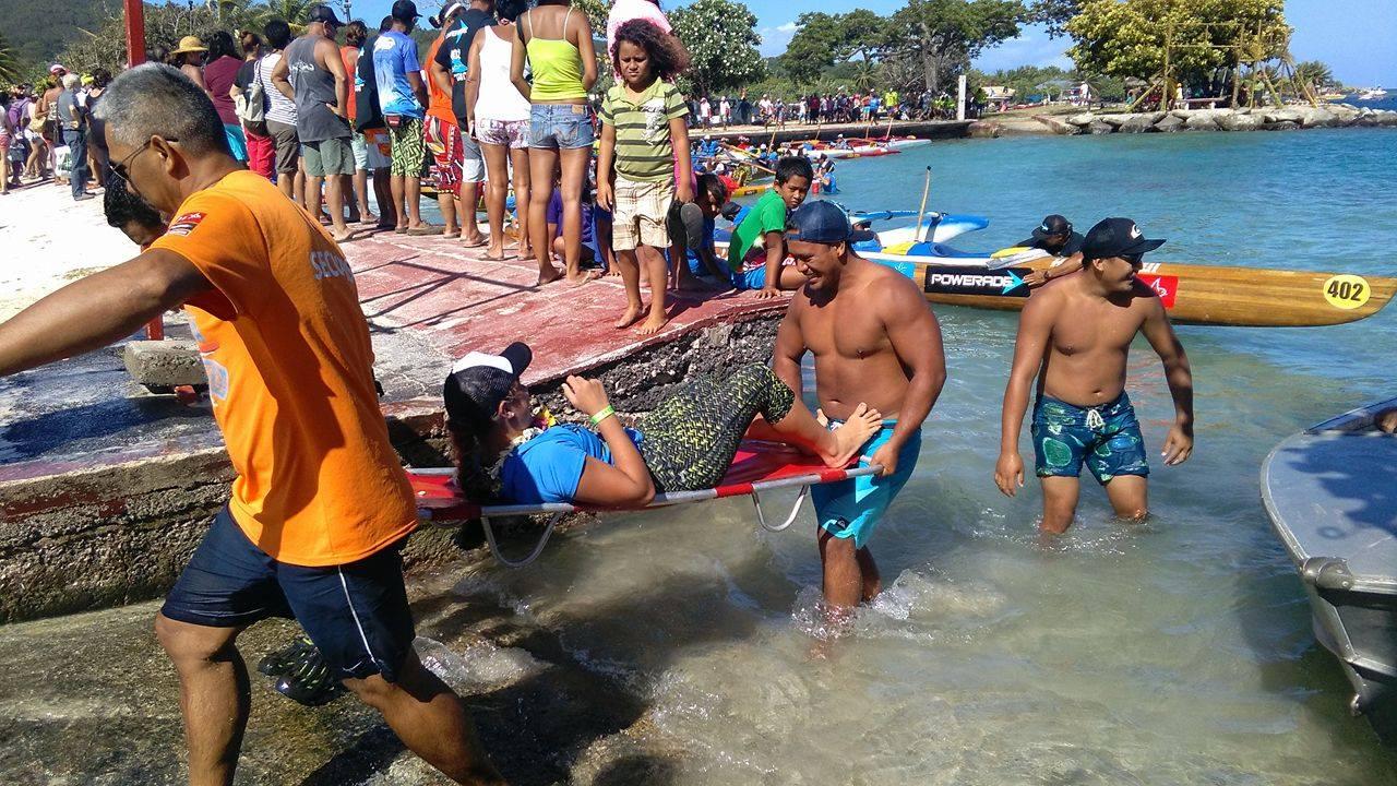 Hawaiki Nui Vaa : une étape avec les équipes de secouristes