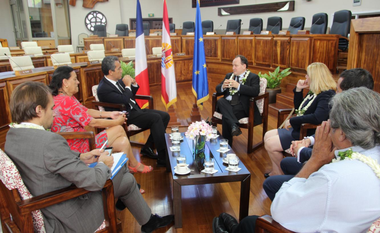 Le vice-président de la BEI reçu à l'Assemblée