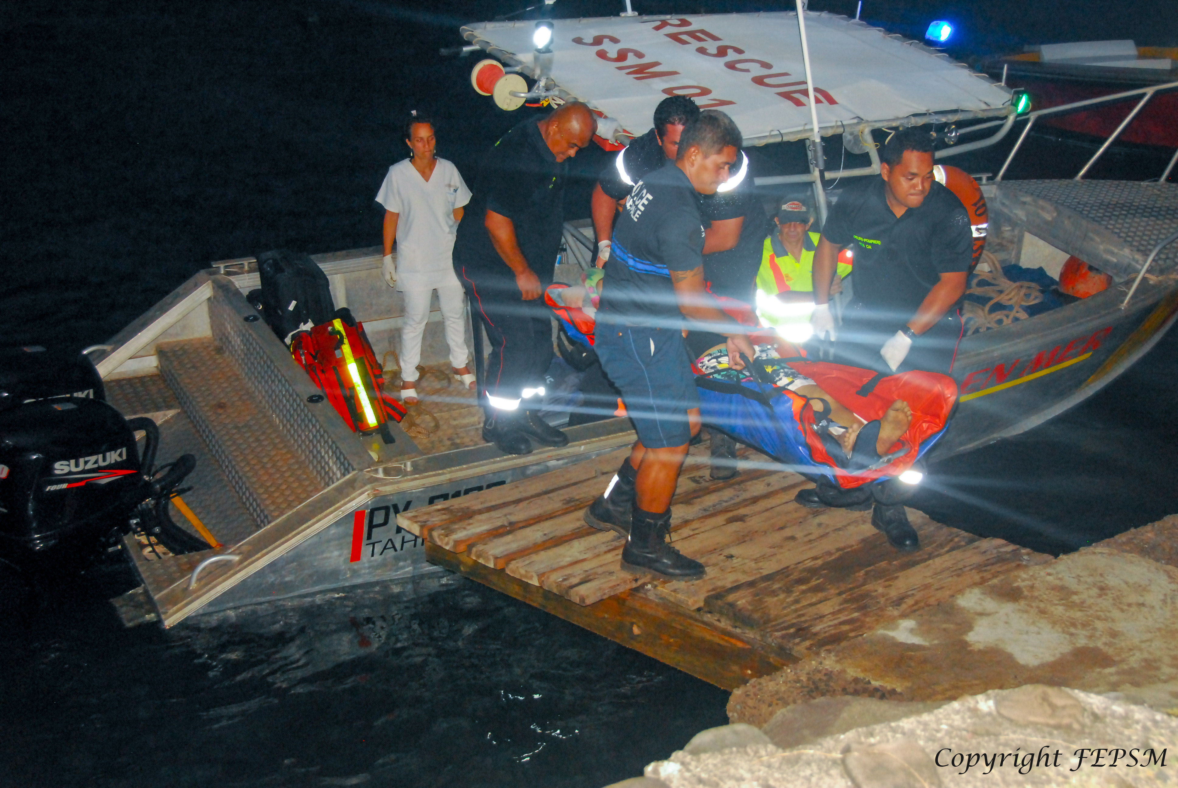 Un marin chinois évacué d'urgence aux Marquises