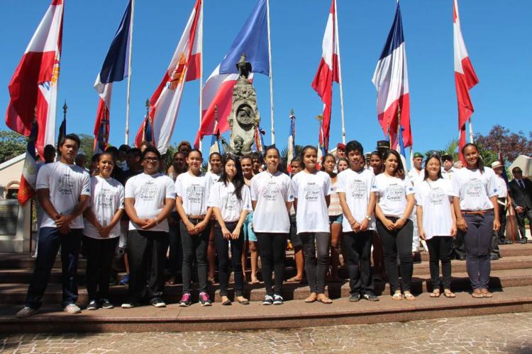 En 2015, des classes de 3e avaient déjà participé à la cérémonie. (Archives)