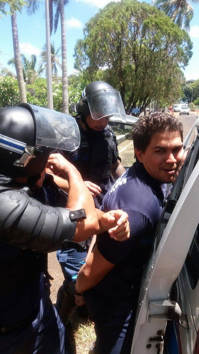 Interpellation et arrestation étaient au menu pour cette journée de formation.
