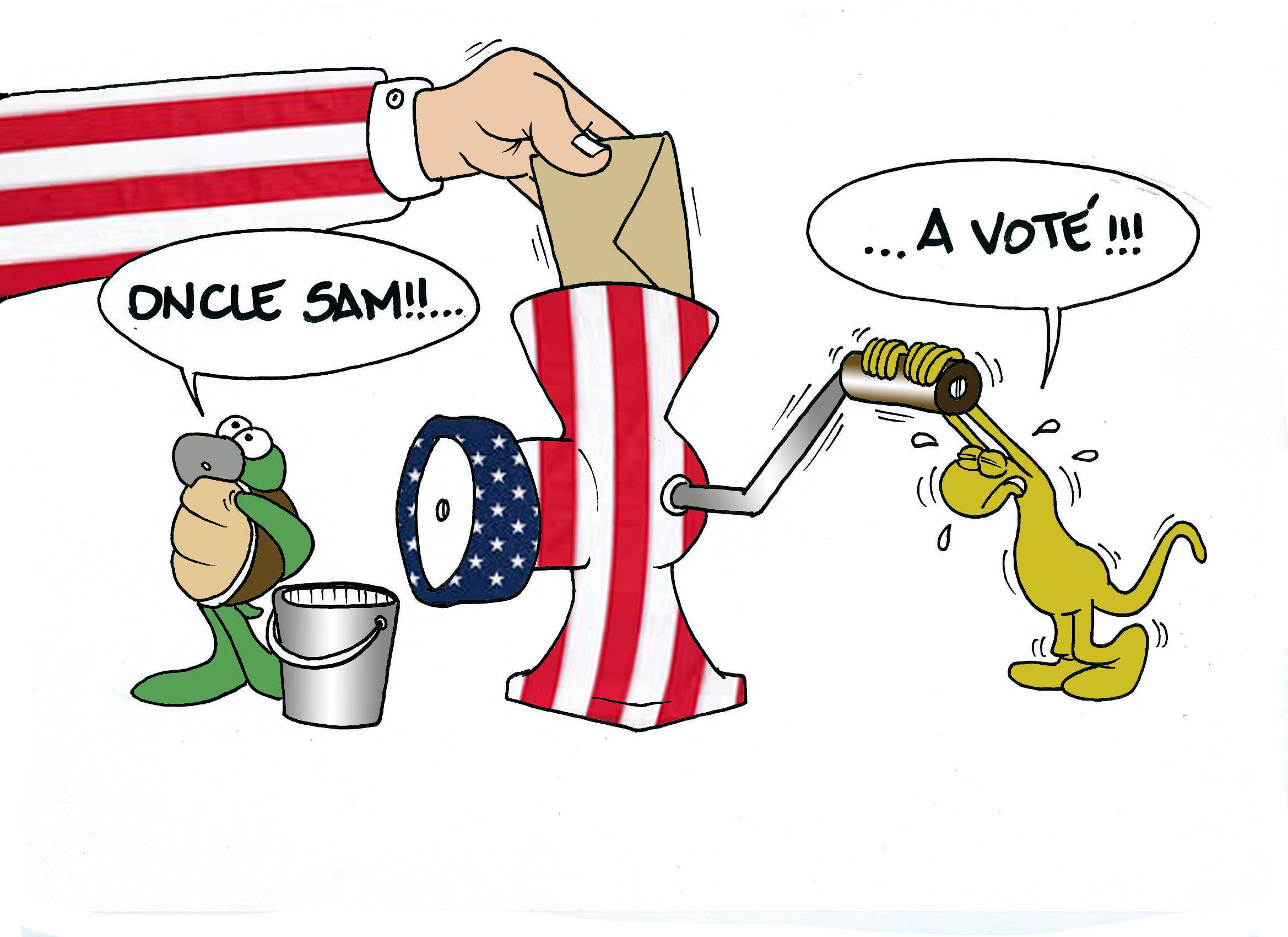 """"""" Les élections américaines - épisode 2 """" par Munoz"""
