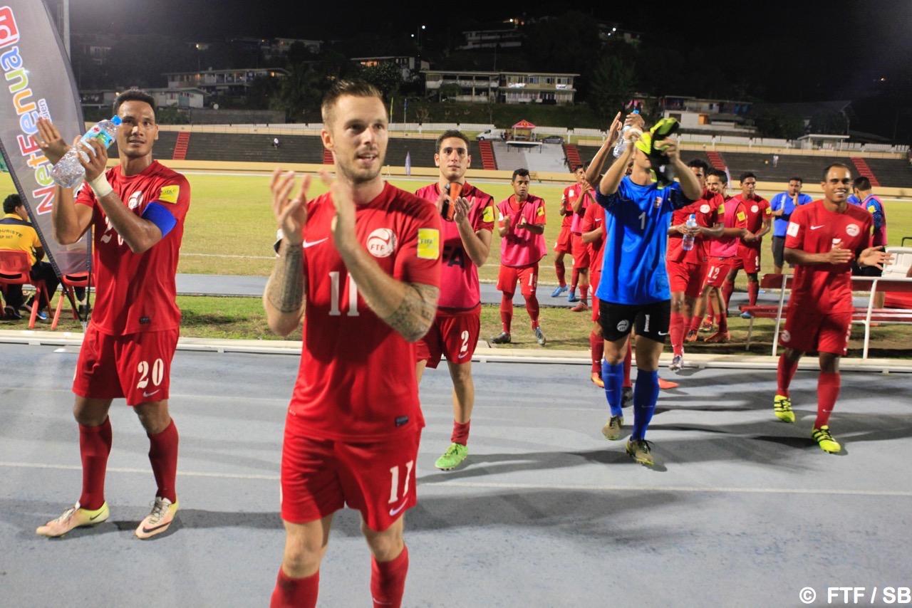 Les joueurs ont remercié le public à la fin du match