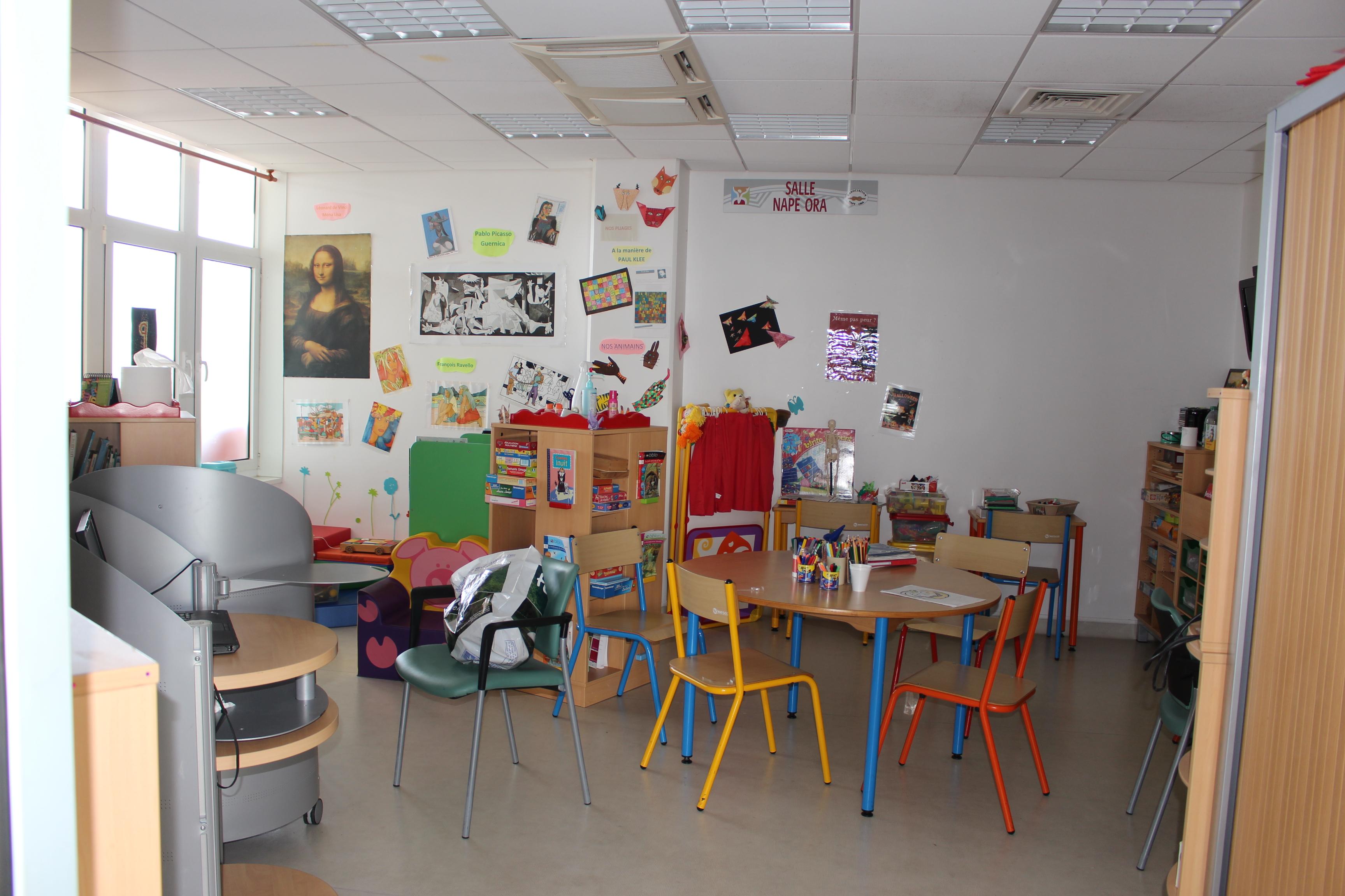 Page enfant : Une école pas comme les autres au sein de l'hôpital