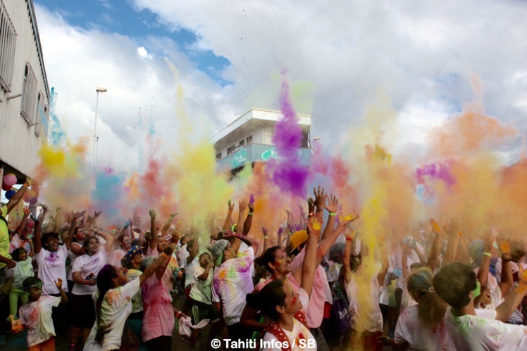 """""""Run Fun Color"""", un événement à ne pas rater vendredi à Papara."""