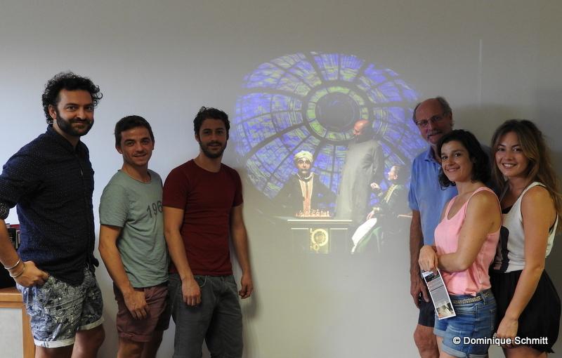 Les six comédiens sont arrivés au fenua en début de semaine, heureux de jouer devant les Polynésiens.