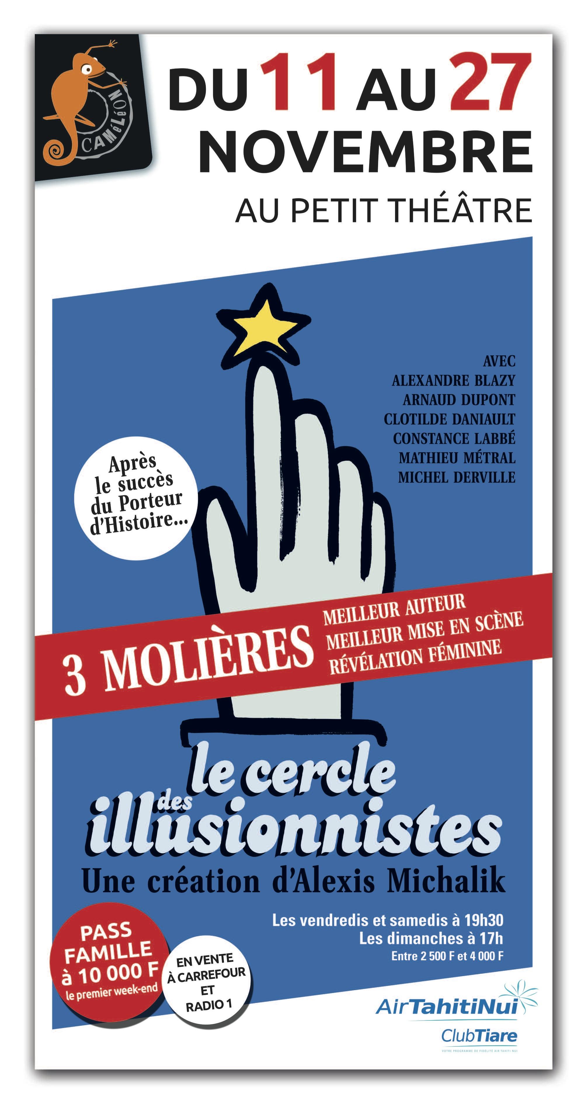 """""""Le cercle des illusionnistes"""", un tour de magie théâtral signé Alexis Michalik"""
