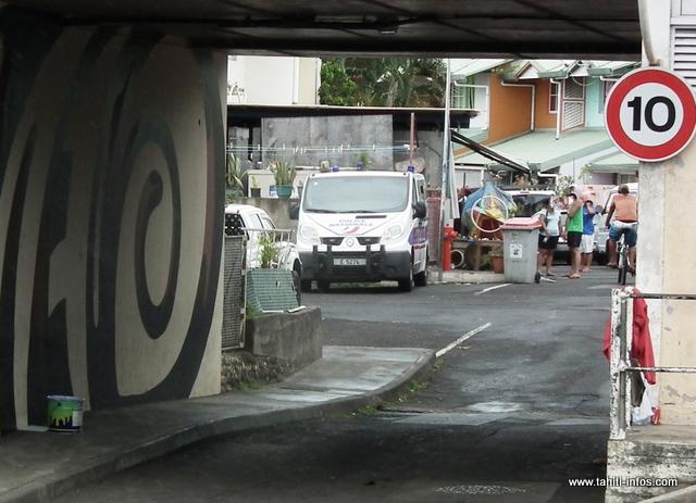 Le quartier Vaitavatava, un spot bien connu des dealers et consommateurs de produits stupéfiants.