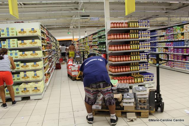 Carrefour Punaauia a rouvert ses portes Samedi