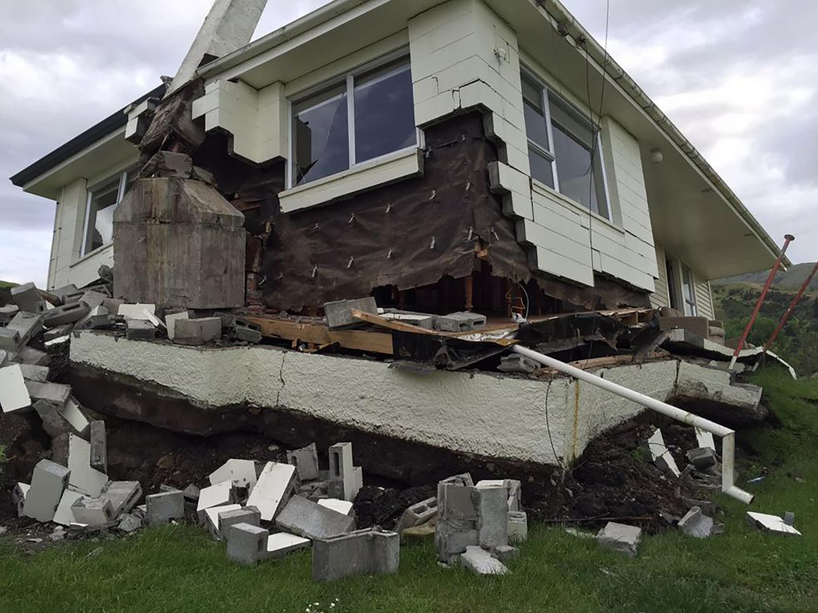 """Séisme en Nouvelle-Zélande : """"des scènes de dévastation absolue"""" (Maj 14/11 - 05h30)"""