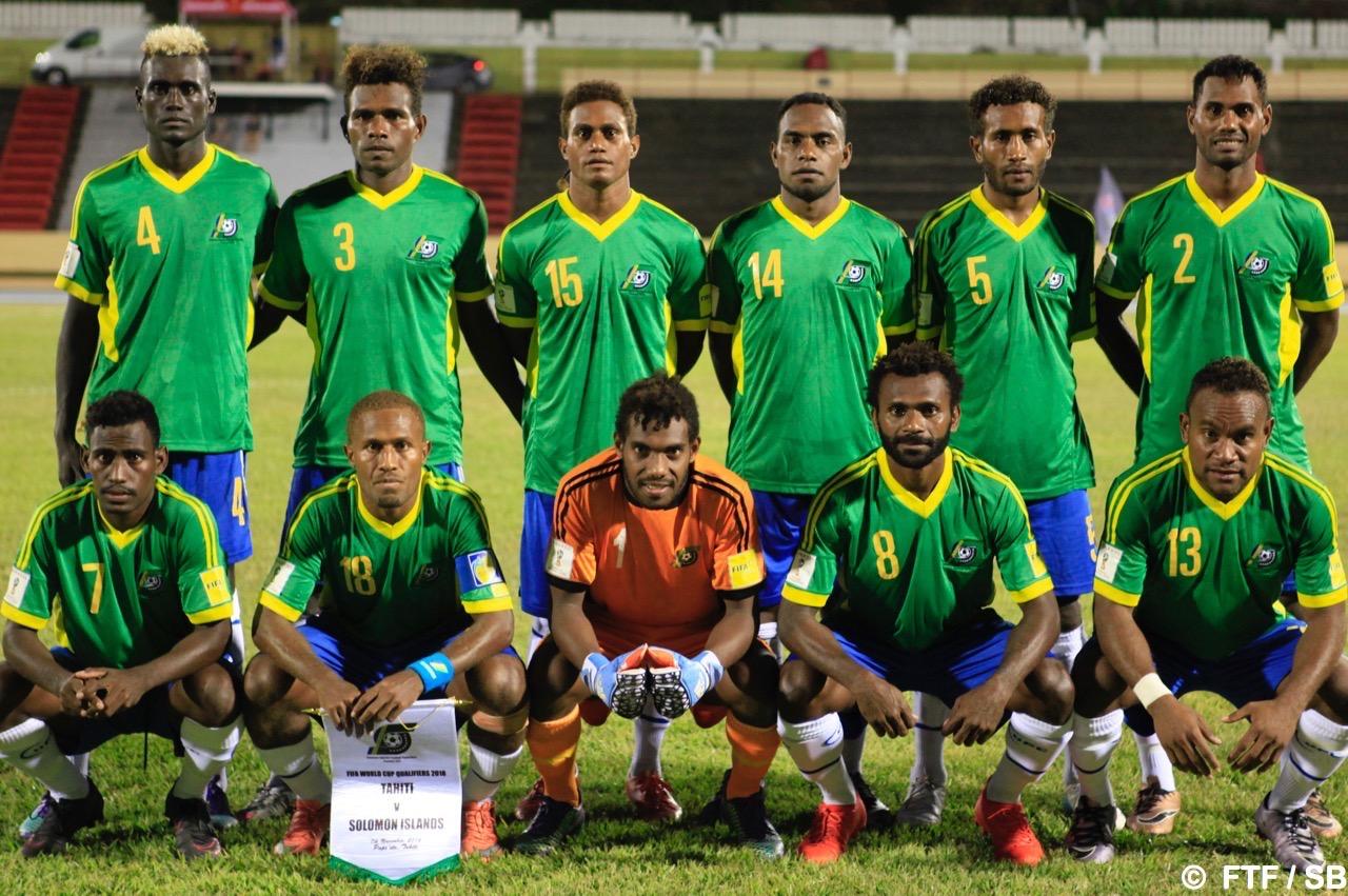 Salomon a pris sa revanche suite à sa défaite au match aller contre Tahiti