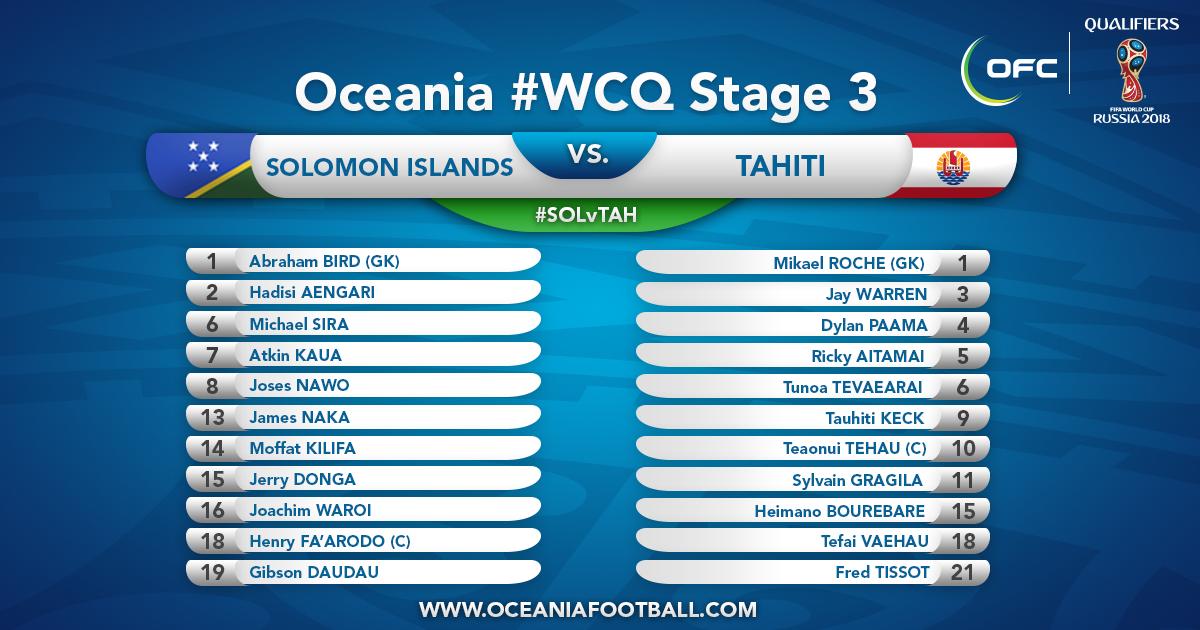 Football – Eliminatoires Coupe du Monde : Salomon prend sa revanche sur Tahiti devant ses 20 000 supporters