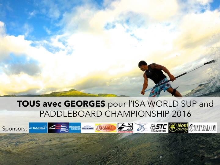 Georges Cronsteadt sera la seul Tahitien à concourir en SUP race