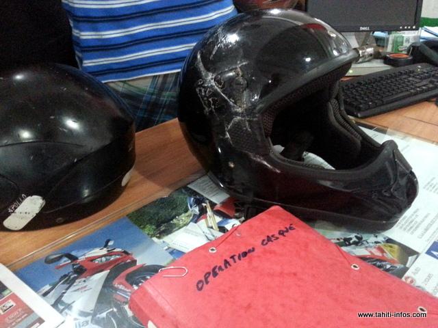 Sécurité routière : l'opération casques neufs attire les foules